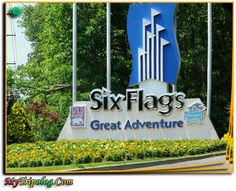 six flags NJ..been here way too many times in my life. love this place!