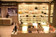Charles , Keith brings shoppers a plethora of stylish footwear and accessories! This new store at Grand Galleria has everything from basic pumps to wedges.