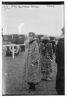 Mrs. Vanwright Watson (LOC) | ca 1917 by The Library of Congress