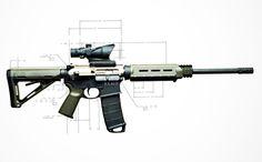 Battle Light 1.0 AR-15 // Standard | NEMO Arms
