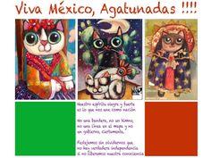 Original artwok by/ Pinturas originales de Mónica Padilla México