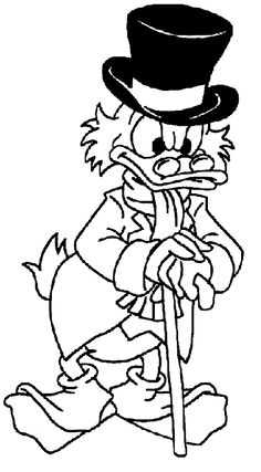 18 Gambar Scrooge Mcduck Coloring Pages Terbaik Colouring Pages