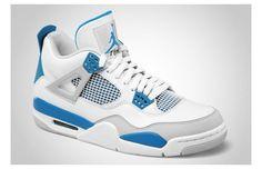 "Air Jordan IV ""Military Blue"""