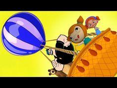 Koca Ayı Kabasakal Elif ve Mine ile Gökyüzünde Balonda Eğleniyoruz - YouTube