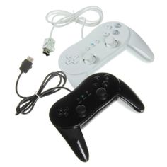 osell wholesale dropship Classic Wired Game Controller PRO for Nintendo Wii $4.01