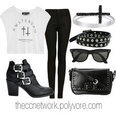 """Concert Outfit"" by theccnetwork on Polyvore"