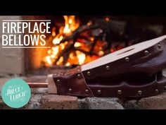 In this video, I show how to make a fireplace bellows. These have been used for centuries to keep fires going while saving your lungs from having to do the work....