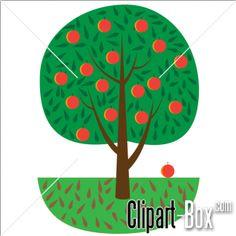 CLIPART APPLE TREE