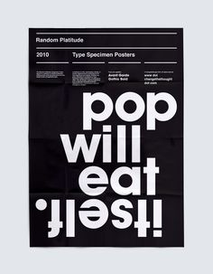 This is a potentially ongoing series of type specimen posters featuring Changethethought studio's most favorite type faces.  http://www.changethethought.com/work/print/