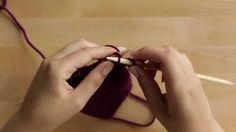 Neulomisen alkeet: silmukoiden luominen ja päättely - YouTube Knitting Stitches, Textiles, Youtube, Sewing, Videos, Knitting Patterns, Dressmaking, Couture, Stitching