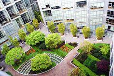 San Francisco Condominium Modern Landscape Architecture Design featured in Chronicle / sfgate