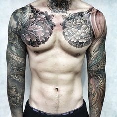 45 amazing sleeve tattoos ideas and designs. Find inspiration with this gallery of tattoo sleeves for women and men, their true meaning and types. Asian Tattoos, Trendy Tattoos, Tattoos For Guys, Badass Tattoos, Life Tattoos, Body Art Tattoos, Tatoos, Japanese Sleeve Tattoos, Japanese Tattoo Art