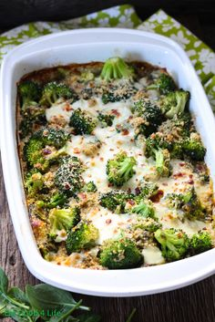 Broccoli and quinoa casserole |                                                               INGREDIENTS:  2 1/2 cup uncooked quinoa 4 1/2 cup vegetable stock, you can also use water 2 tbsp pesto sauce 1 tsp celtic salt 2 tsp arrowroot powder, or cornstarch 2 cups fresh organic spinach 12 oz skim mozzarella cheese, I used 16oz 1/3 cup parmesan cheese 12 oz fresh broccoli florets 3 green onions, chopped