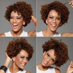 A QUEM Inspira conversou com Fernando Torquatto para descobrir tudo sobre o visual afro da atriz de Geração Brasil