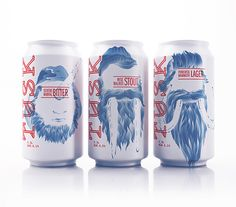 lovely-package-tusk-beer-1 what a way to marry hipster and fantastical together