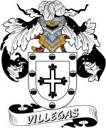 De Villegas Spanish Coat Of Arms www.4crests.com #coatofarms #familycrest #familycrests #coatsofarms #heraldry #family #genealogy #familyreunion #names #history #medieval #codeofarms #familyshield #shield #crest #clan #badge #tattoo #crests #reunion #surname #genealogy #spain #spanish #shield #code #coat #of #arms