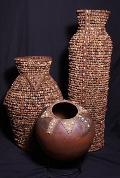 Cultures International African Marketplace From Africa to Your Home African Masks, African Art, African Pottery, Provinces Of South Africa, African Sculptures, Anthropologie, Water Storage, African Jewelry, African Design