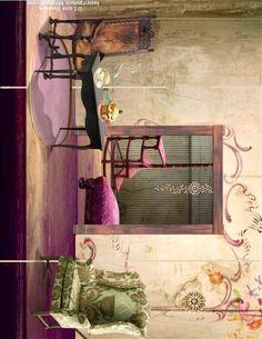 Miranda Mouse's House Interior
