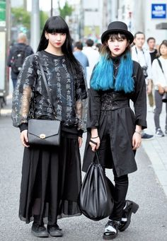 Pororo and Aekyung - 19 year old fashion students - Harajuku
