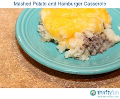 My mom has made this recipe many times and I love it! It is a great way to use up leftover mashed potatoes after the holidays. :)