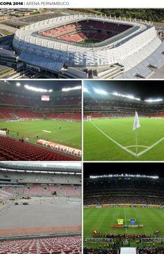 Mosaico Estádio Arena Pernambuco (Foto: Editoria de Arte)