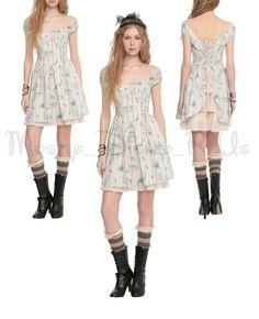 Disney Cinderella Live Action Movie Collection Peasant Sweatheart Dress LE L-XL