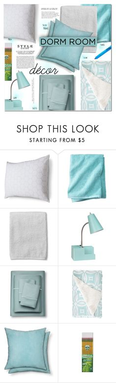 """""""Home Away From Home: Dorm Decor"""" by rosie305 ❤ liked on Polyvore featuring interior, interiors, interior design, home, home decor, interior decorating, Room Essentials, Fieldcrest, Whiteley and H&M"""