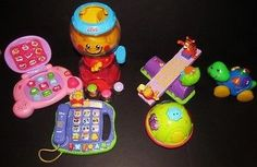 cool Lot 6 High Quality Baby Infant Developmental Toys Fisher Price Vtech Winnie Pooh - For Sale Check more at http://shipperscentral.com/wp/product/lot-6-high-quality-baby-infant-developmental-toys-fisher-price-vtech-winnie-pooh-for-sale/
