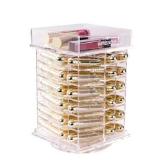Display and keep your favorite makeup blender dust-free in style with the Impressions Vanity Diamond Collection Acrylic Makeup Blender Case. Made from high-qual Makeup Vanity Mirror With Lights, Vanity Wall Mirror, Vanity Decor, Makeup Storage, Makeup Organization, Organisation Ideas, Hollywood Vanity Mirror, Makeup Travel Case, Makeup Blender