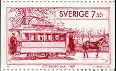 Tranvía de Gotemburgo 1900, Suecia
