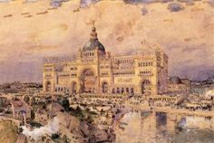 The Mackaye Spectatorium - Childe Hassam - The Athenaeum