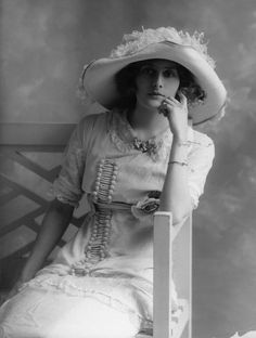 Phyllis Le Grand by Bassano, 1911