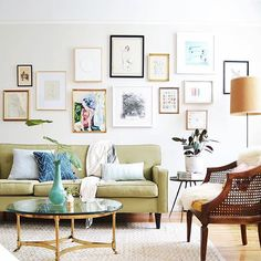 Let's talk about how beautiful @em_rehabitat's living room is, shall we?? Love the vintage f...