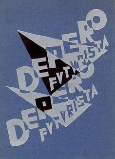 Depero futurista. Milano, Galleria Blu, (Le presenza), 1969. Catalogo di mostra, maggio 1969