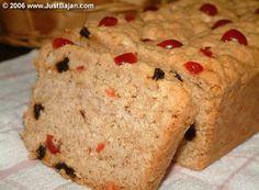 Bajan sweet bread- like a cross between a scone and a biscotti