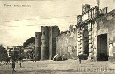Appius and Piazzale Porta San Giovanni and Porta Asinaria Year:1907
