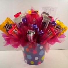 For graduation gift.. Candy Bouquets
