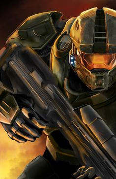 Artwork from the Halo video game saga Master Chief Cosplay, Halo Master Chief Helmet, Master Chief Armor, Master Chief Costume, Master Chief And Cortana, Master Chief Petty Officer, The Legend Of Zelda, Star Lord, Aliens
