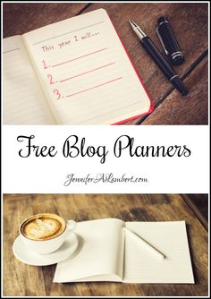 Free Blog Planners