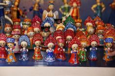 Artisan toys sold at the Christmas market along the Champs Elysees in Paris