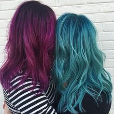 Resultado de imagem para hair color fantasy