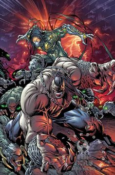 Featuring variant covers by series artist Jeremy Haun (Battle for the Cowl: Arkham Asylum) and Dale Keown (The Darkness/Pitt). Description from thequarterbin.com. I searched for this on bing.com/images