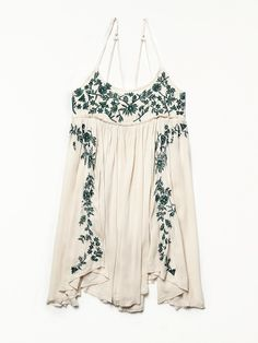 Free People Embroidered Babydoll Slip, £88.00