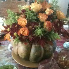 Thanksgiving centerpiece 2012