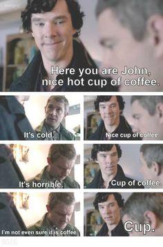Sherlock/Cabin Pressure mashup