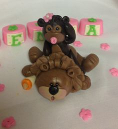 Fondant customizable Baby shower cake topper delivered right to you!