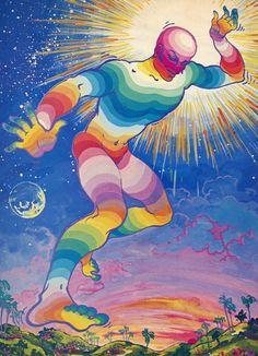 Psychedelic Art, Hippie Art, 60s Art, Fairytale Illustration, Psychedelic Poster, Art, Ethereal Art, Pretty Art, Interesting Art