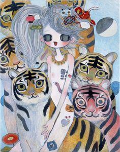 EK★ Aya Takano Pretty Art, Cute Art, Aya Takano, Spirited Art, Wow Art, Asian Art, Manga Art, Japanese Art, Dark Art