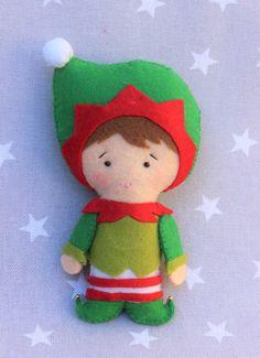 Decoración de navidad Elfo de Navidad adorno de navidad