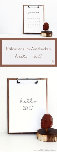 Kalender 2017 to do liste free print kalender for Minimalistischer haushalt